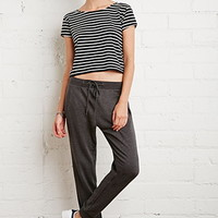 Drawstring French Terry Sweatpants