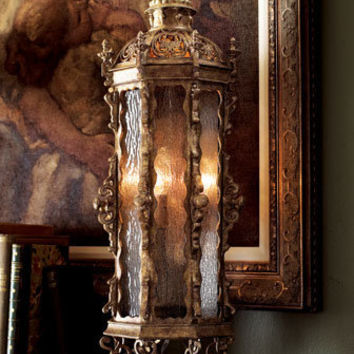 Gothic Tall Table Lantern