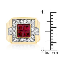 True Blood Crystal Ring, size : 11