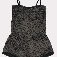 Ready to Pounce Romper