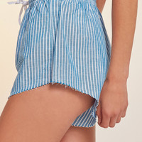 SIR The Label Fred Striped Short | Urban Outfitters