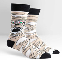 Mummy Wrap Crew Socks