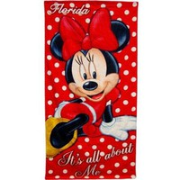 Kids, Toddlers, Disney Minnie Mouse Beach Towel