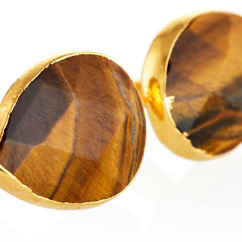 Tiger's Eye Uli Ring, Stone & Novelty Rings