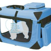 Deluxe Soft-Sided Pet Travel Crate