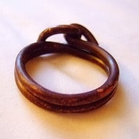 Hooked Ring for Men, Size 12, Pure Copper, 10 Gauge, Handmade Jewelry on Etsy for Men, Gift for Him, OOAK
