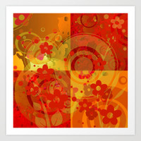 on a sunny day Art Print Promoters