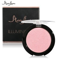 Beauty Metallic Bronzer Highlighter Palette Makeup Matte  Contour Shading Powder Makeup Women Make Up Glitter Shimmer