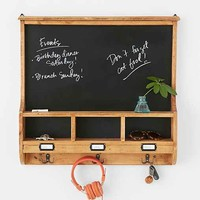 Campbell Chalkboard- Brown One