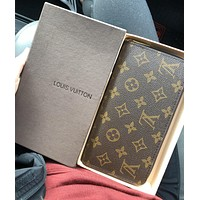 Louis Vuitton Clutch Bag LV Popular Women Men Leather Zipper Wallet Purse