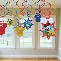 American Greetings Mickey Mouse Clubhouse Hanging Party Decorations, Party Supplies