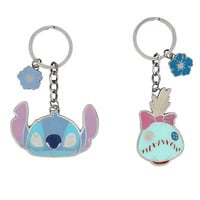 Disney Lilo & Stitch Scrump & Stitch Key Chain Set