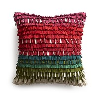 Kringle Pillow with Feather Insert.