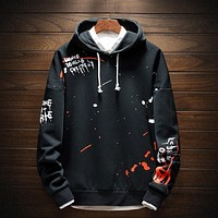 Mens Hoodies Men Sweatshirt Pullover Streetwear Harajuku Hip Hop Fashion Sweatshirts Male Hoodie Men