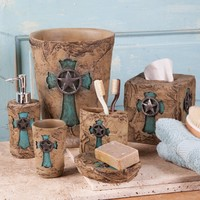 Turquoise Cross Bath Essentials