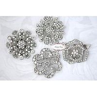 4pcs Brooch Set