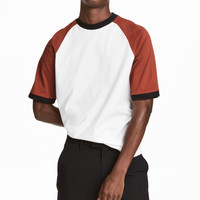 H&M T-shirt with Raglan Sleeves $14.99