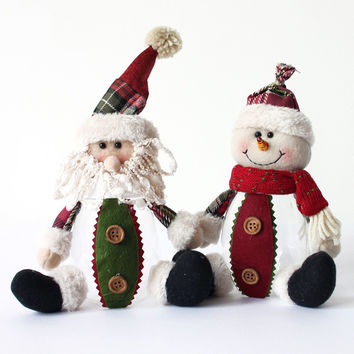 Special Santa Claus Snow Man Reindeer Candy Bottle Christmas Decoration Christmas Tree Hanging Ornaments Pendant Christmas Gift [9601227151]