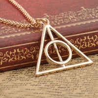 Harry Potter Deathly Pendant Necklaces