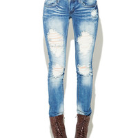 Destroyed Skinny Jean | Wet Seal
