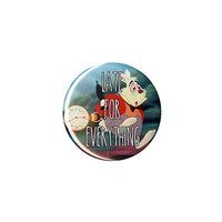 Disney Alice In Wonderland Late For Everything Pin