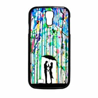 Love Song Romantic In The Rain Paint Samsung Galaxy S4 Case