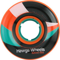 Hawgs Street 62mm 90a Orange Longboard Wheels