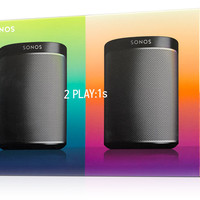 2 PLAY:1 Speakers for Wireless HiFi in 2 Rooms | Sonos
