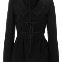 Chelsea Collar Bow Detail Jacket