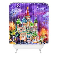 Ginette Fine Art Saint Basils Cathedral Russia Shower Curtain