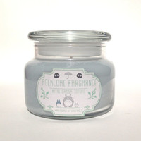 My Neighbor Totoro - Ghibli Inspired Scented Soy Candle (Cherry Blossoms + Rain)