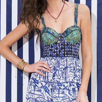 Derby Playsuit 211APX Summer Dress by Maaji Swimwear