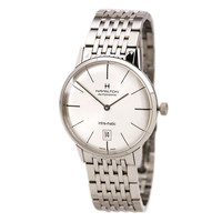 Hamilton H38455151 Men's American Classics Intra-Matic Automatic Silver Dial Steel Bracelet Watch