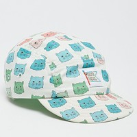 Mokuyobi Cat Tint 5 Panel Hat - Mens Backpack - Off White - One