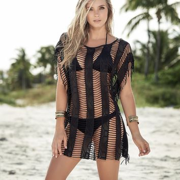Fringe Net Cover Up