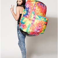 Tie Dye Big Ass Backpack - Spencer's