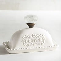 Hostess Ceramic Butter Dish with Lid
