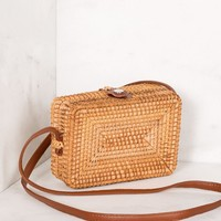Out West Woven Crossbody Purse