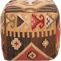 Tularosa Pouf - Ottomans - Living Room - Furniture | HomeDecorators.com