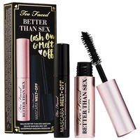 Sephora: Too Faced : Better Than Sex Lash On & Melt Off Set : eye-sets