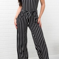 Melody Striped Jumpsuit