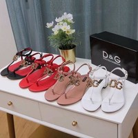 DOLCE & GABBANA D.G Sorrento Women DG Logo Sandals Shoes Sneaker