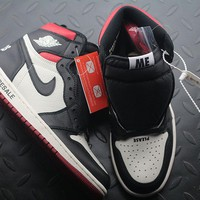 "Air Jordan 1 Retro High OG NRG ""Not For Resale"" AJ1 Men Fashion Casual Sneakers Sport Shoes"