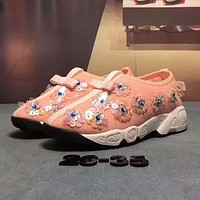 ADIDAS Girls Boys Children Baby Toddler Kids Child Fashion Sequins Sneakers Sport Shoes