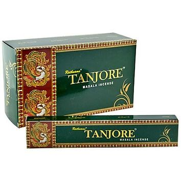 Rathnam Tanjore Incense - 15 Gram Pack (12 Packs Per Box)