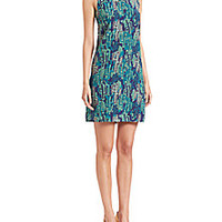 M Missoni - Silk Cactus-Print Dress - Saks Fifth Avenue Mobile