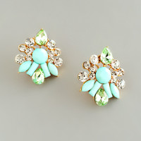 Mint Primavera Earrings
