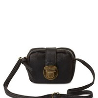 Black Mini Cross-Body Purse by Charlotte Russe