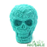 Skull chocolate mould DIY silicone cake molds handmade soap mold pudding jelly candle moulds