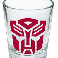 Transformers red Autobot Shot Glass LIMITED EDITION